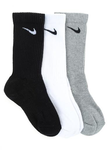 Nike Spor Çorap || 3'lü Paket Renkli